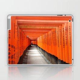 Fushimi Inari Shrine - Ellie Wen Laptop & iPad Skin