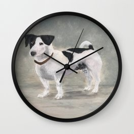 Mikko, Jack Russell Terrier Wall Clock
