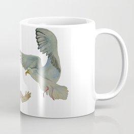"Seagull (""My love as the seagull is flying in the sky"") Coffee Mug"