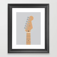 Guitar Heroes #5 - David Framed Art Print