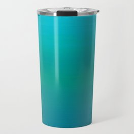 Ombre, Blue to Teal Travel Mug