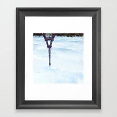 KEEP IT UPSIDE DOWN PLEASE. Framed Art Print