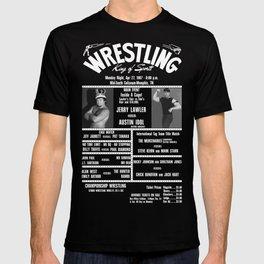 #10-B Memphis Wrestling Window Card T-shirt