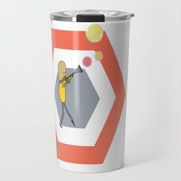Bubble Trumpet Travel Mug