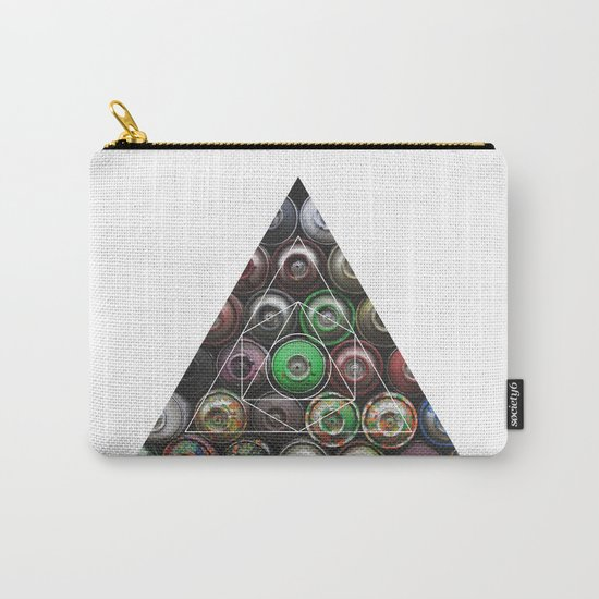 Graffiti Spray Cans - Geometric Photography Carry-All Pouch