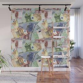 Art of the euro money Wall Mural