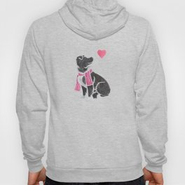 Watercolour Border Collie Hoody