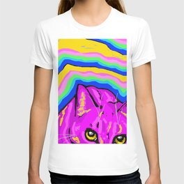 trippy kitty I T-shirt
