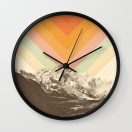 Mountainscape 2 Wall Clock
