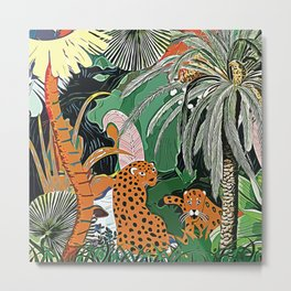 In the mighty jungle Metal Print