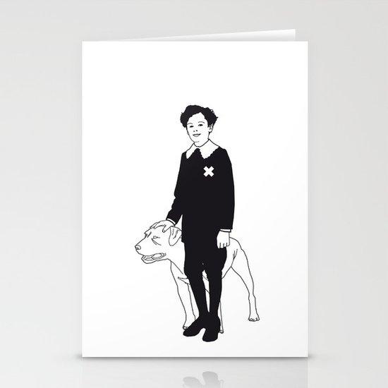Dog Dick Web Site Stationery Cards
