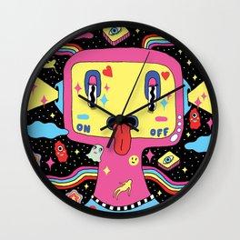 Fight Depression Wall Clock