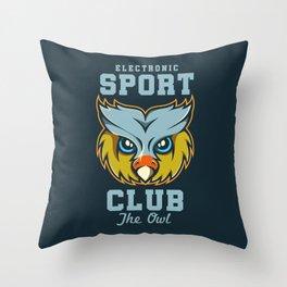 Electronic Sport Club Throw Pillow