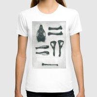 bones T-shirts featuring Bones by Carrianne Bullard