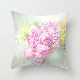 summer thoughts Throw Pillow