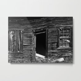 Old Abandonned house Metal Print