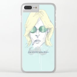 Last Dance Clear iPhone Case