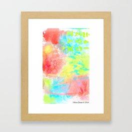 Ice Cream ABCs Framed Art Print