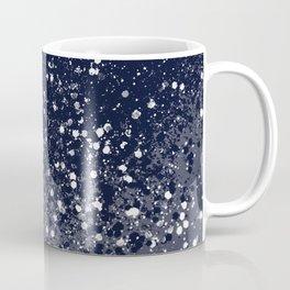 Sparkling Navy Blue Summer Night Glitter #1 #shiny #decor #art #society6 Coffee Mug