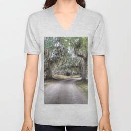 Avery Island Road Unisex V-Neck