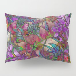 Floral Abstract Stained Glass G175 Pillow Sham