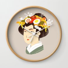 Japanese Delicacy Wall Clock