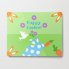 Happy Easter! Metal Print