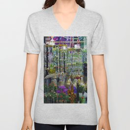 Trinkets and Color Unisex V-Neck