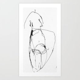 Croquis III Art Print