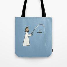 Jesus Fish Tote Bag