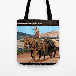 Vintage Poster - Old Spanish National Historic Trail (2018) Tote Bag