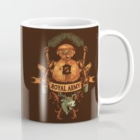 army Mugs featuring Royal Army by Hillary White