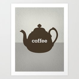 Coffee/Tea Art Print