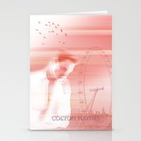 actor Stationery Cards featuring Colton Haynes - Actor by Sherazade's Graphics