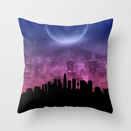 Seoul Throw Pillow