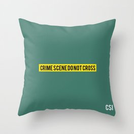 CSI - Minimalist Throw Pillow
