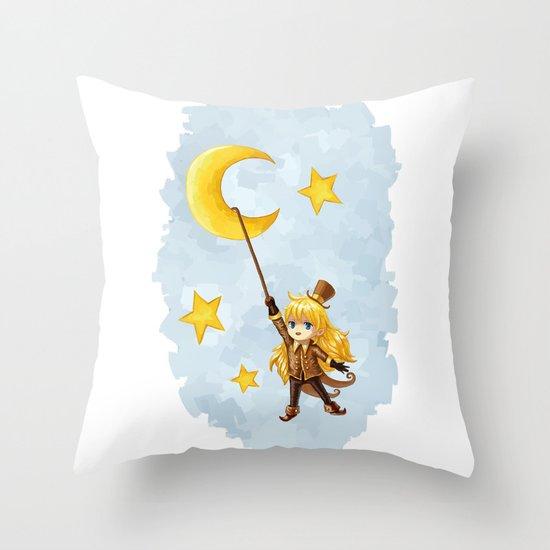 Magician Throw Pillow