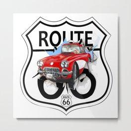 Route 66 USA Metal Print