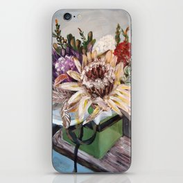 INSIDE THE GIFT BOX - Australian native dried flowers still life by HSIN LIN / H.Lin the Artist iPhone Skin