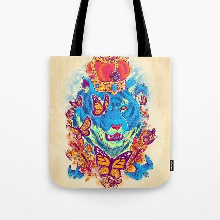 The Siberian Monarch Tote Bag