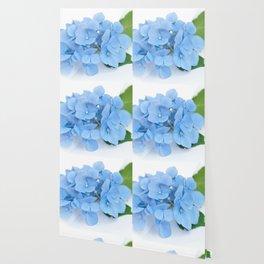 Blue Hydrangeas #1 #decor #art #society6 Wallpaper