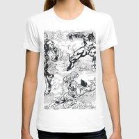 comics T-shirts featuring Comics by Burg