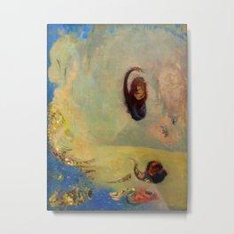 "Odilon Redon ""Oannes anagoria"" Metal Print"