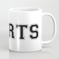 sports Mugs featuring SPORTS by snaticky