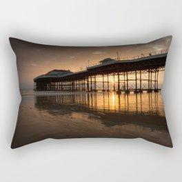 Cromer Pier Dawn Rectangular Pillow