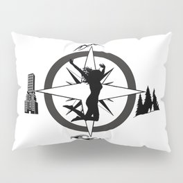 Adventure Bod - Logo Pillow Sham