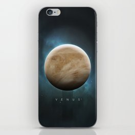 A Portrait of the Solar System: Venus iPhone Skin