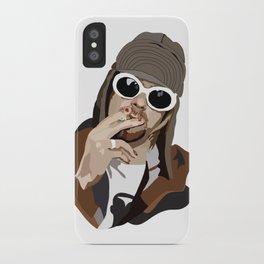 Kurt Smoking iPhone Case