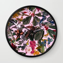 The Butterfly's Dream Wall Clock