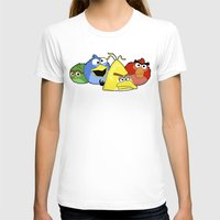 sesame street T-shirts featuring Angry Street by Olechka